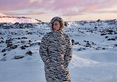 冬日防護--女裝棉羽絨廓形趨勢