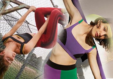 舒適運律--女裝針織運動廓形趨勢