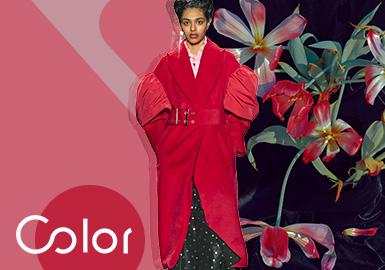 荔色--女装色彩趋势