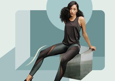 热汗准则--女装室内运动廓形趋势