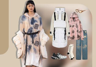 冬季野营--女装组货搭配