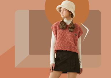 跨季揭秘--青少年毛衫廓形趋势