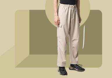 工装传承--男装裤装廓形趋势