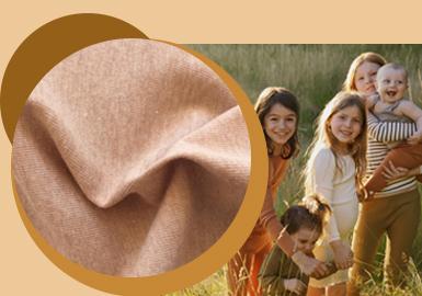 安心舒适--童装针织面料趋势