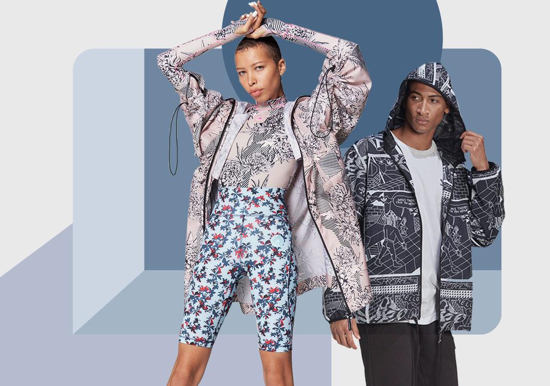 轻量质感--男女装运动外套廓形趋势