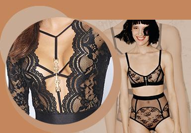 金属配件--女装内衣辅料趋势