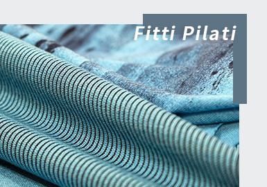 不同于以往线下展会形式,受疫情影响,第88届Pitti Filati在Pitti Connect平台以数字化形式展示2022春夏系列。受消费者生活习惯和消费理念的转变,纱线和织片的开发愈加注重安全性、舒适性和百搭性 ,且环保和可持续发展理念对纱线开发具有持续影响力。抗菌和抗微生物纱线的技术任需创新和扩展,棉、麻等天然纤维是夏季开发的关键,花式纱线的运用也成为重点。