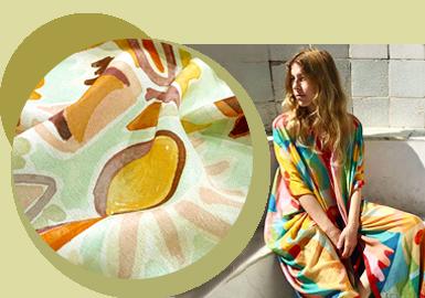 格调繁花--女装化纤混纺面料趋势
