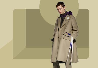 经典风尚--男装大衣/风衣廓形趋势