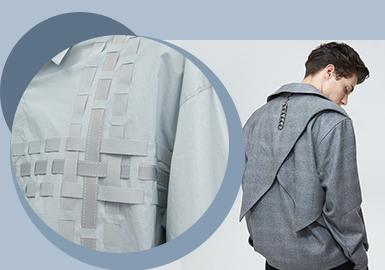 线性装饰--男装辅料综合趋势