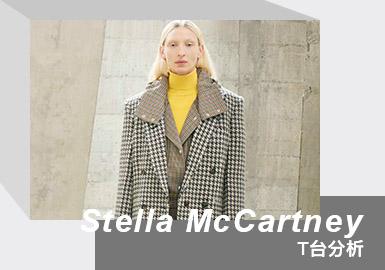 英国时尚品牌Stella McCartney发布了2021秋冬系列,在工业风格的建筑内,上演幻想与现实的交织。系列灵感来自品牌早前「StellaAtoZ」项目中的「D is for Desire」,作品反映了人们对盛装打扮和集体外出的热切渴望,透过大胆迷幻的图纹、精妙的几何剪裁、3D编织、以及带有男装风格的廓形,将传统与魅力、运动与奢华结合,为疫情缓和之际,欢欣外出的时尚女性量身打造。