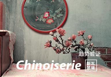 Chinoiserie--女装主题色彩趋势验证