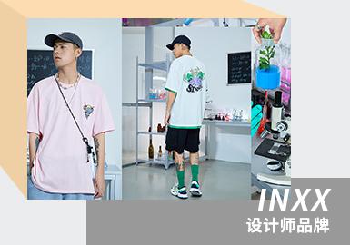 INXX有着非常鲜明的视觉设计,并且用多样化的剪裁方式带来无数具有设计感的创意服饰,对于追求个性的人群来讲,都是不可多得的良品。INXX对于潮流的态度,不仅在于先锋的潮流设计与对中国传统文化的传承,更源于对自我表达的推崇,并以此催生出一系列独特的创意作品。