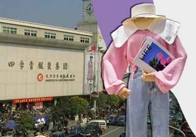 """杭州服装批发市场第一家毋庸置疑的就是四季青服装批发市场了,号称是华东第一大服装批发市场!是中国最具影响力的服装一级批发与流通市场之一,也是中国最具影响力的服装一级批发市场,创办于1989年10月,座落于全国闻名的""""四季青服装特色街区""""。四季青其实不是一个市场、而是一个由女装市场为主体,十几个批发市场组成的街形商圈。四季青服装市场组成:意法服饰城(老意法)、意法原创女装大厦(新意法)、九天国际服装城(老九天)、新九天女装大厦(新九天)、四季青服装集团(东大楼&苏杭首站)、四季青精品女装市场(精品女装)、杭派精品服装市场(老杭派)、杭派服饰城(新杭派)、中州(老中州)、新中洲女装城(新中洲)、常青服饰批发市场、自由港服饰城、中星外贸服饰城、中纺中心服饰城、广州原创服装城等。"""