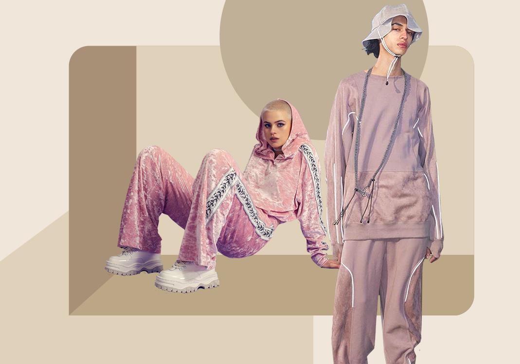 结构演变--男女装运动套装廓形趋势