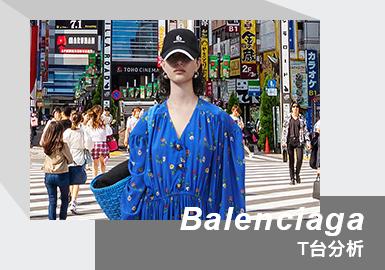 "Balenciaga 凭借精湛的剪裁与缝纫技术,对面料的不断创新,成为时尚潮流的引导者。 Demna Gvasalia 的肩部手法、茧形轮廓,扩充的超大比例,已然成为当下一大明确的身份认知与符号。Balenciaga 冬季21系列时装,以一支名为《fear good》的短片,再次唤醒人们对这个世界的渴望,影片采用蒙太奇剪辑手法,不包含任何产品或广告,希望让每个人都可以体会到""感觉真好""的正面情绪。系列时装大片由摄影师 Patrick Welde 掌镜,白色背景拍摄采用后期制作将全球各个旅游地标做背景,寄托回归全球旅行的愿景。冬季21系列打造了一个完整的日常衣橱,打破了休闲装和正装的传统分类,颠覆固有设计理念,创造出新的时装类别。系列所使用的90.6%的平纹印花面料获得了可持续发展认证。大部分时装均为男女同款,剪裁休闲宽松且易于穿着。"