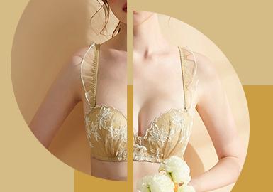 自然无界--女装内衣图案工艺趋势